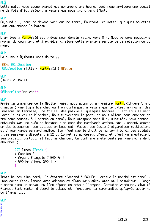 Lout, l'alternative sérieuse à LaTeX dans Planet Libre exemple_document_entree_lout