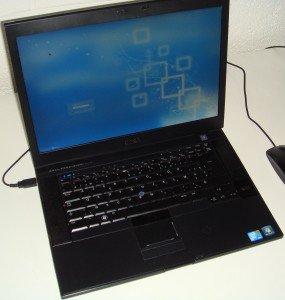 Dell Precision M4400 faisant tourner Salix OS